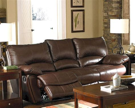 Next Brown Leather Sofa Clifford Brown Leather Reclining Sofa Co600281