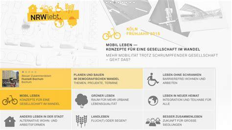 Architektenkammer Nrw by Aknw Startet Website Zu Planen Und Bauen Im Demografischen