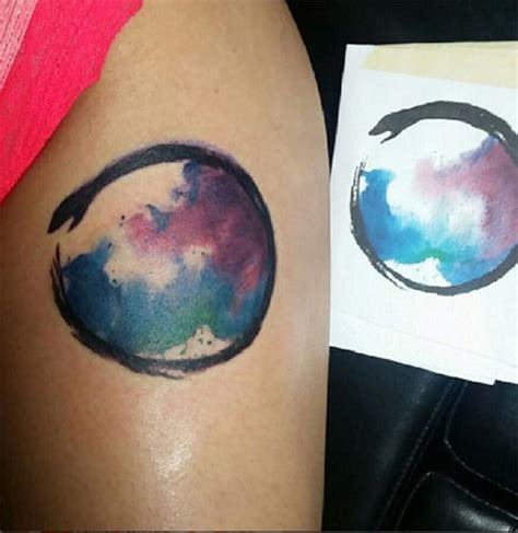 watercolor tattoos chicago chicago watercolor artist nathan galman