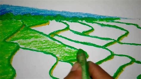 tutorial menggambar gunung gambar 50 gambar mewarnai seru menarik anak informazone