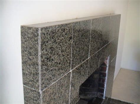 refacing brick fireplace with ceramic tile brick fireplace refacing with granite done ceramic tile