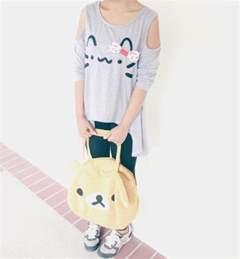 diy fashion kawaii pusheen cat neko t shirt tutorial