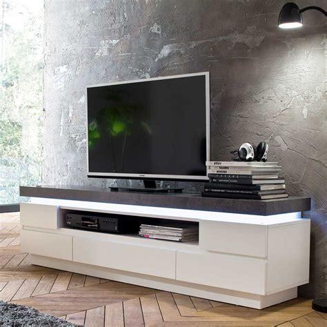 lowboard mit beleuchtung tv lowboard mit led beleuchtung wei 223 grau eidi24