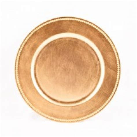 gold beaded charger plates koyal 424468 beaded gold 13 quot charger plate lionsdeal