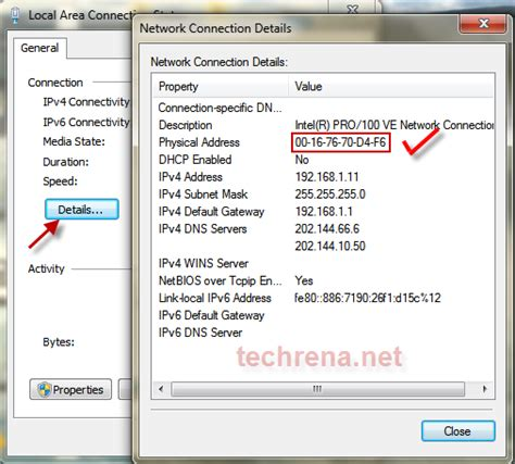 Search An Address Change Mac Address Or Physical Address Using Registry Editor Regedit In Windows