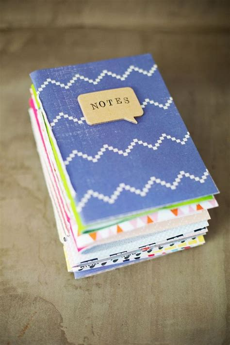 Diy Handmade Journals - gift idea journals beautiful and