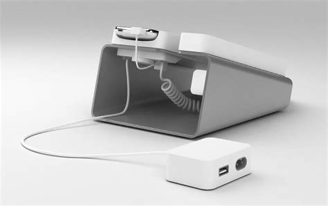 iphone dock brings you back 25 years live the corded