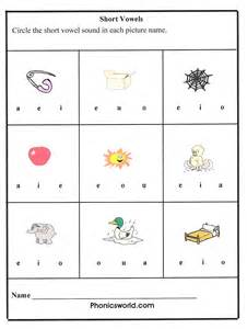 short vowel sounds worksheet student teaching pinterest