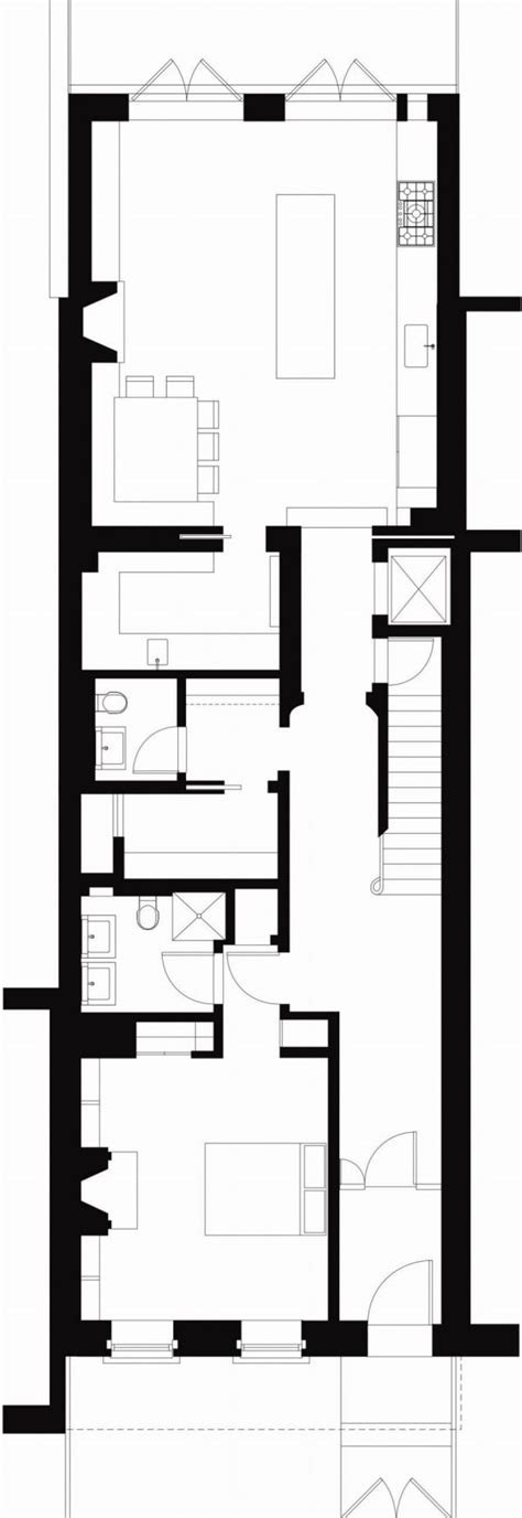 House Plan East Village Town House Selldorf Architects New York