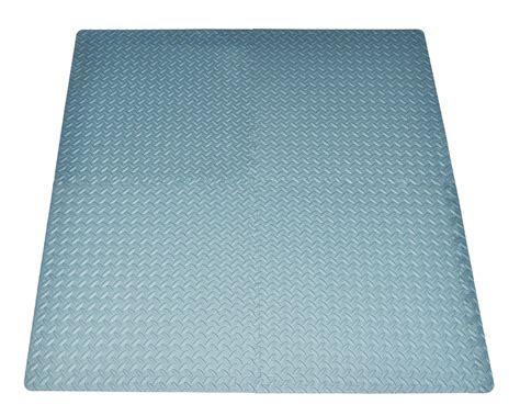16 square ft grey multi purpose floor mat anti fatigue