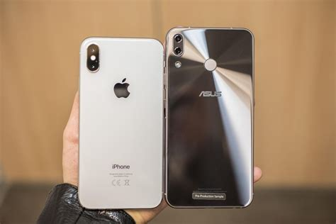 I Phone Samsung Asus Zenfone asus zenfone 5 is an iphone x on the cheap cnet