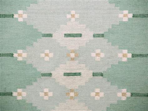 swedish rolakan carpet hand woven wool    cm