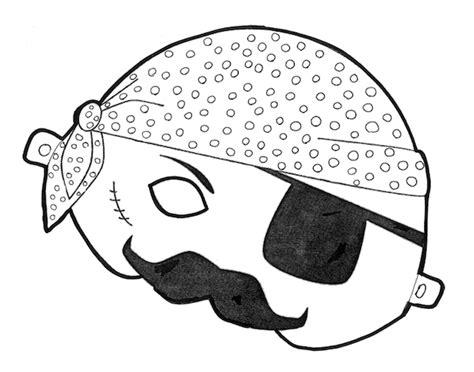 printable pirate mask template free printable halloween masks color and print your own