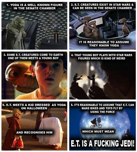 Et Is A Jedi Meme - was et a jedi glorious porpoise