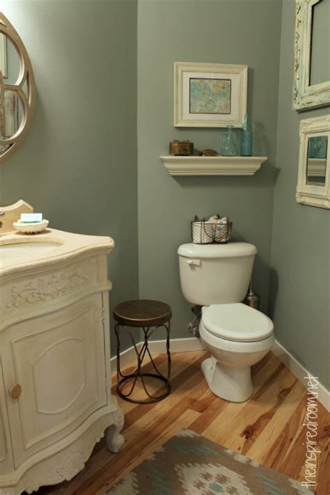 powder room take two 2nd budget makeover reveal the inspired room