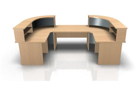 u shaped reception desk kompass u shape reception desk with low level section