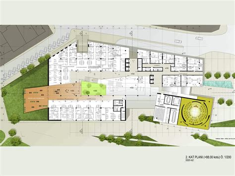 Waterloo Floor Plan gallery of adana city hall and cultural center mtf proje 7