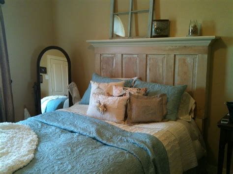 hometalk queen size  door headboard