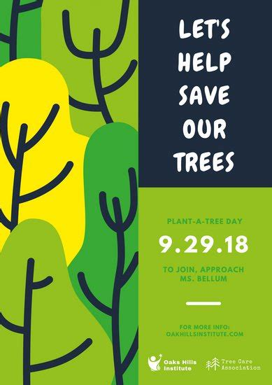 Great Green Idea Save Our Trees by Save Tree Poster Www Pixshark Images Galleries