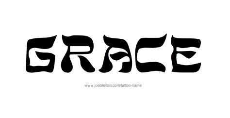 grace name tattoo designs grace name designs