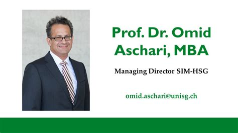 Of St Gallen Mba Application by Of St Gallen Studying Contact Master Of