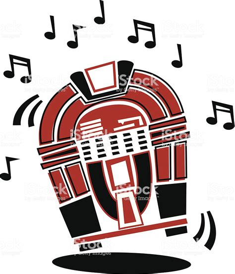 jukebox clipart 1950s jukebox stock vector more images of 1950