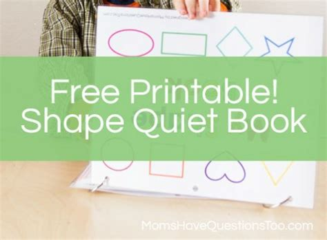 shapes quiet book pattern pinterest projects free printable no sew shapes quiet