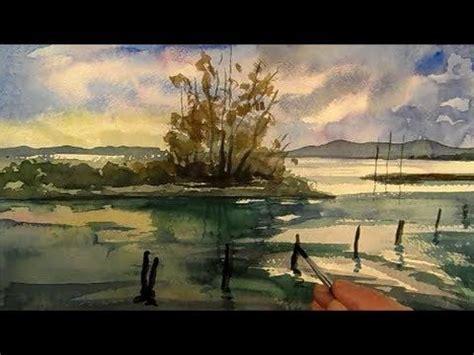 tutorial lake tableau les 4937 meilleures images du tableau art watercolor sur