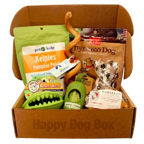 monthly subscription boxes for dogs new subscription box happy box month free happy dogs box and