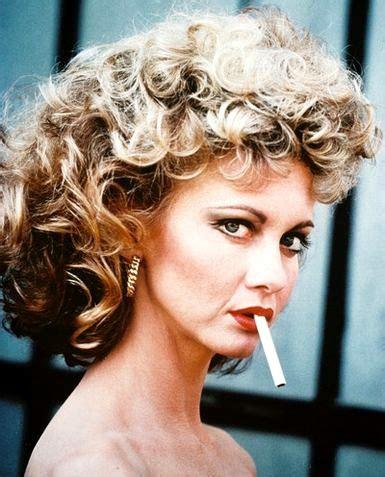 make your hair look like olivia newton john newton john female celebrity smoking list