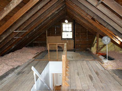 run  renovation  unfinished attic   master