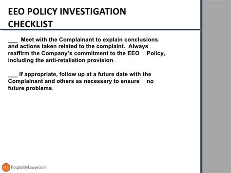 Eeo Investigator by Conducting Bulletproof Workplace Investigations