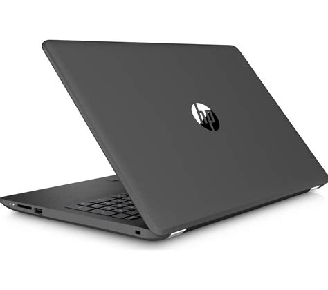 Pc Black Grey buy hp 15 bw060sa 15 6 quot laptop grey l15bun16 15 6 quot laptop with wireless mouse screen