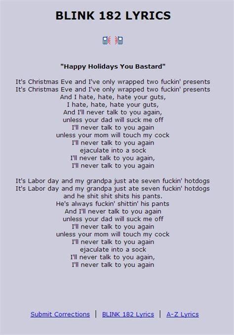 igudevgee  happy holidays  bastard lyrics