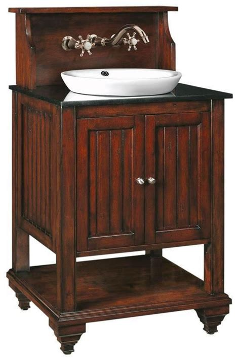 open bathroom vanity virginian sink cabinet bath