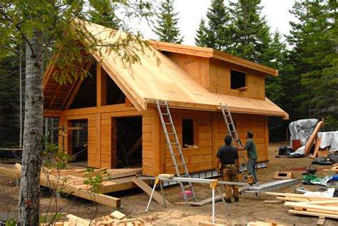 A Frame House Floor Plans Gulf Islands Cabin Update Tamlin Homes Timber Frame