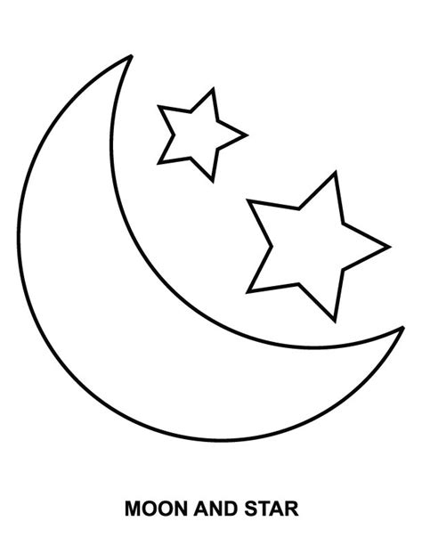 preschool coloring pages moon coloring pages of sun moon and stars 1 moon coloring pages