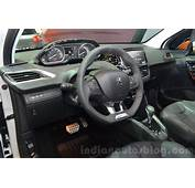 Peugeot 208 Roland Garros Interior  Indian Autos Blog