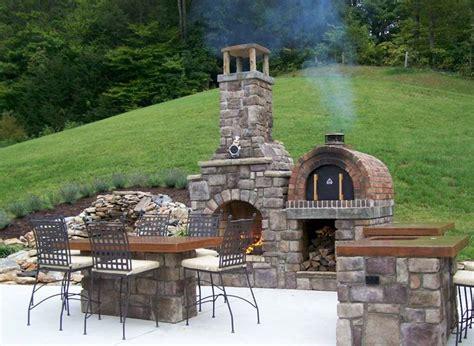 Kitchen Design With Chimney by Forno A Legna Da Giardino Barbecue Forno A Legna Per