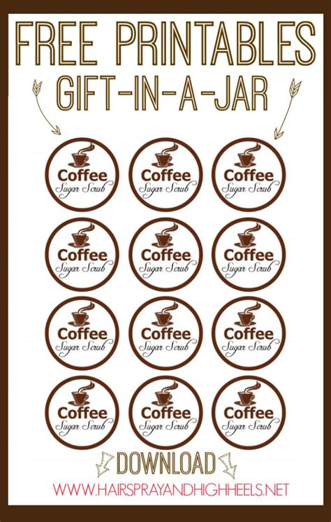 printable coffee jar labels 31 best images about labels on pinterest homemade bath