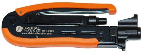 Kabel Konektor Rg11 Compression Connector F Type Cable Coaxial coax cable compression tool rg6 rg59 and rg11 vt200 ott