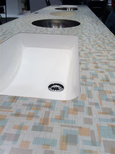 Laminate Countertops Home Depot - wilsonart endora and betty laminates two terrific new retro designs for countertops retro