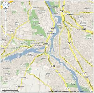 lake oswego map ask a merchant portland
