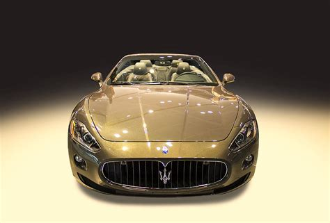 rose gold maserati car maserati gold colour photograph by radoslav nedelchev