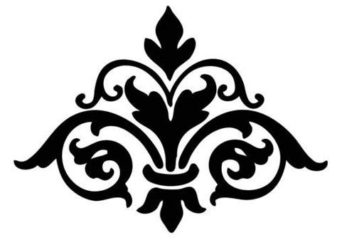 damask pattern font damasks printable stencils and damask patterns on pinterest