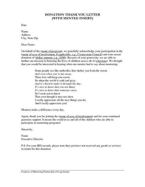 Donation Procurement Letter Donation Procurement On Fundraising Nonprofit