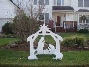 free plans for outdoor nativity scene furnitureplans