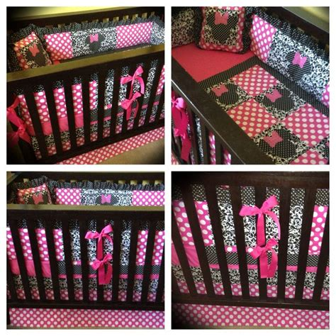 minnie mouse nursery bedding birdie dell custom minnie mouse crib bedding www birdiedell etsy com birdie dell