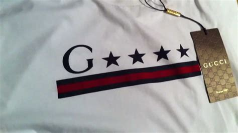 aliexpress logo gucci t shirt review white shirt with g star print web