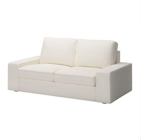 ikea white slipcover ikea kivik 2 seat sofa slipcover loveseat cover dansbo white